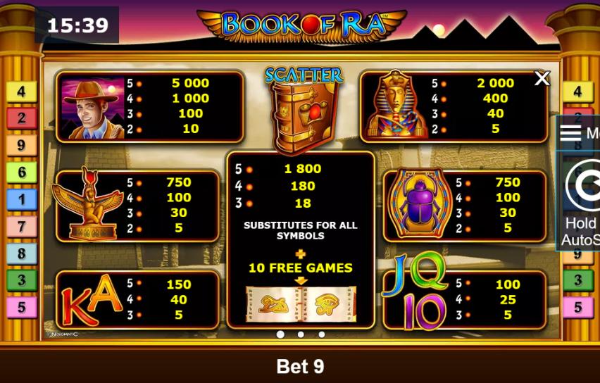 Азартные игры список