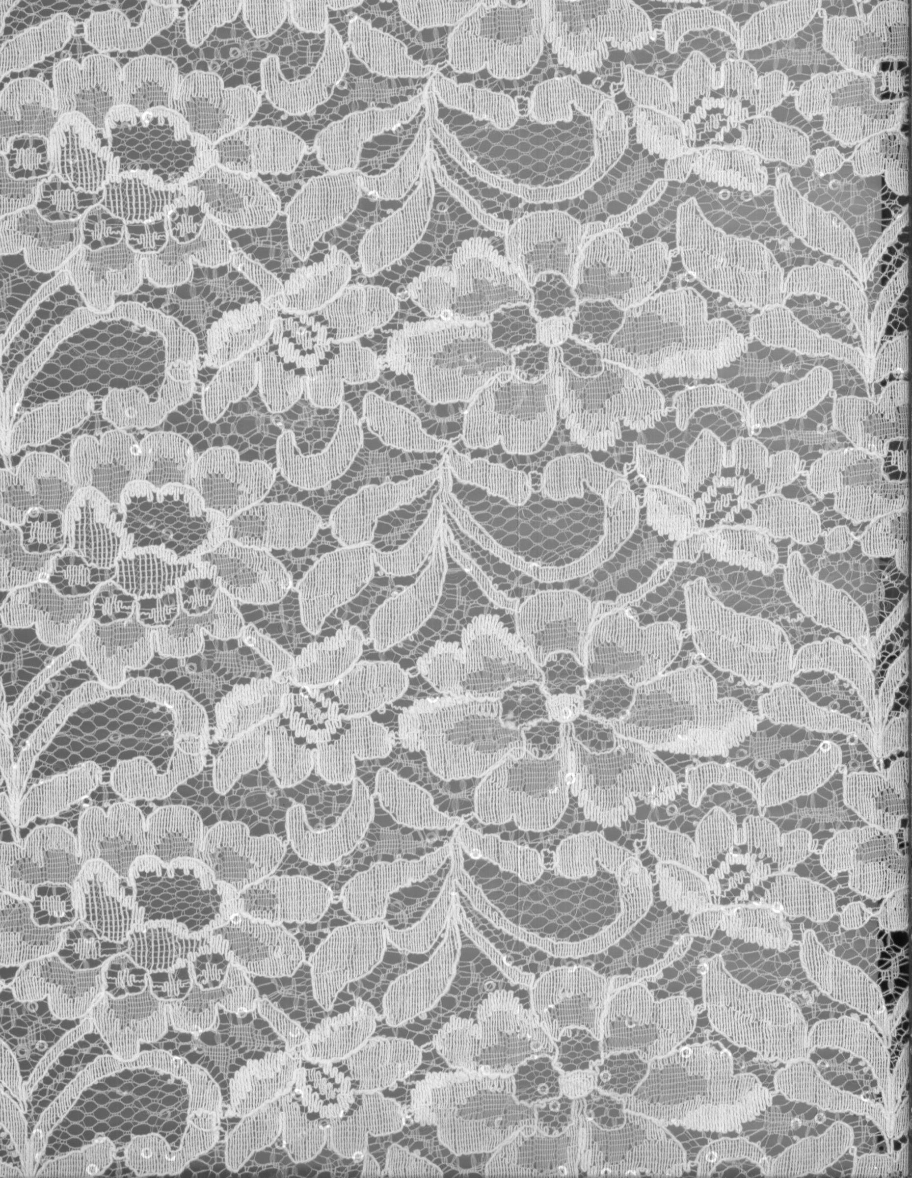 White apron joann fabrics - Bridal Inspirations Fabric Sequin Lace White