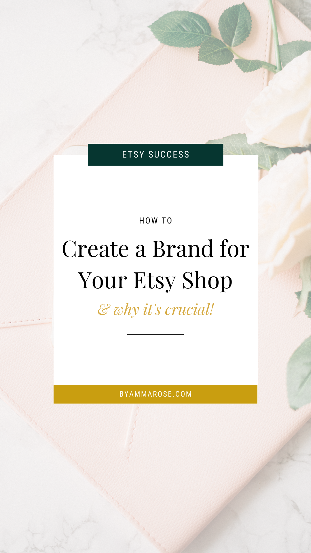 How To Create A Brand For Your Etsy Shop