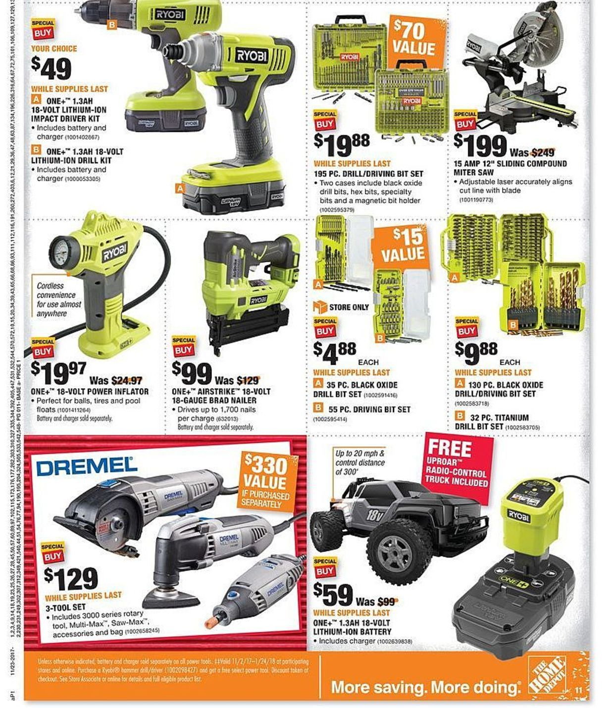 Home Depot Black Friday 2017 Ads And Deals As Usual Home Depot Is One Of The Best Black Friday Sales F Black Friday Home Depot Coupons Best Black Friday Sales
