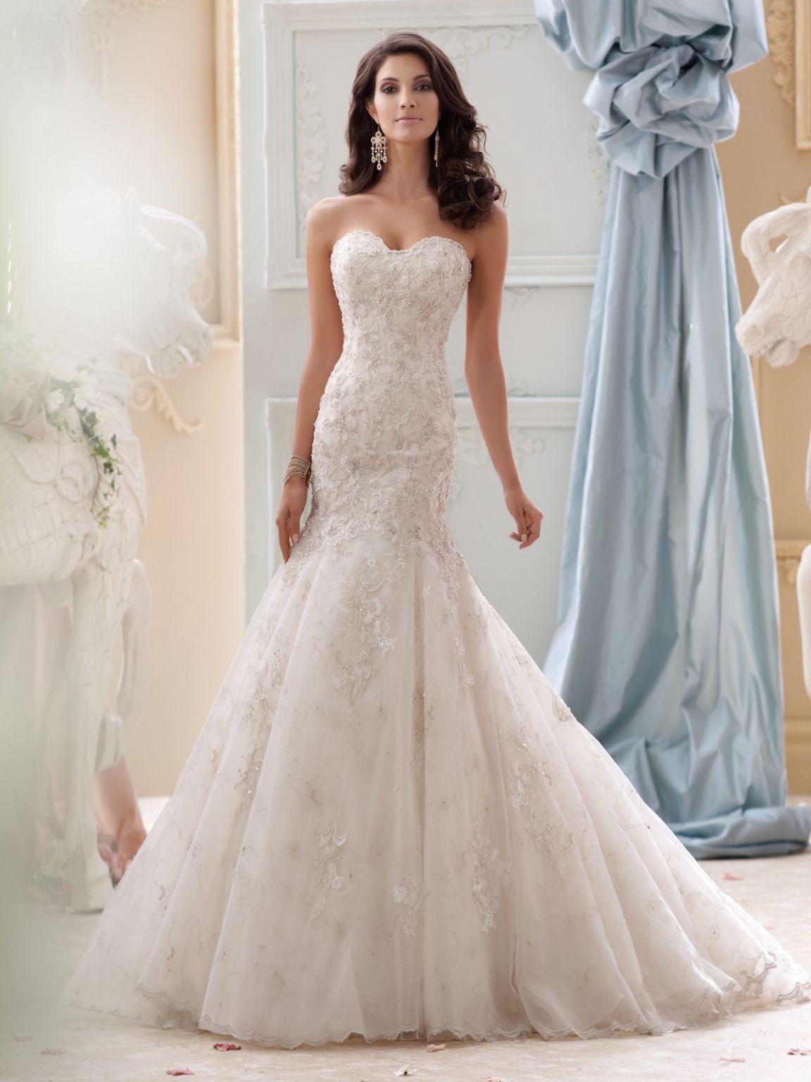 2017 David Tutera For Mon Cheri Wedding Dresses David Tutera Wedding Dresses Wedding Dresses Fit And Flare Wedding Dress