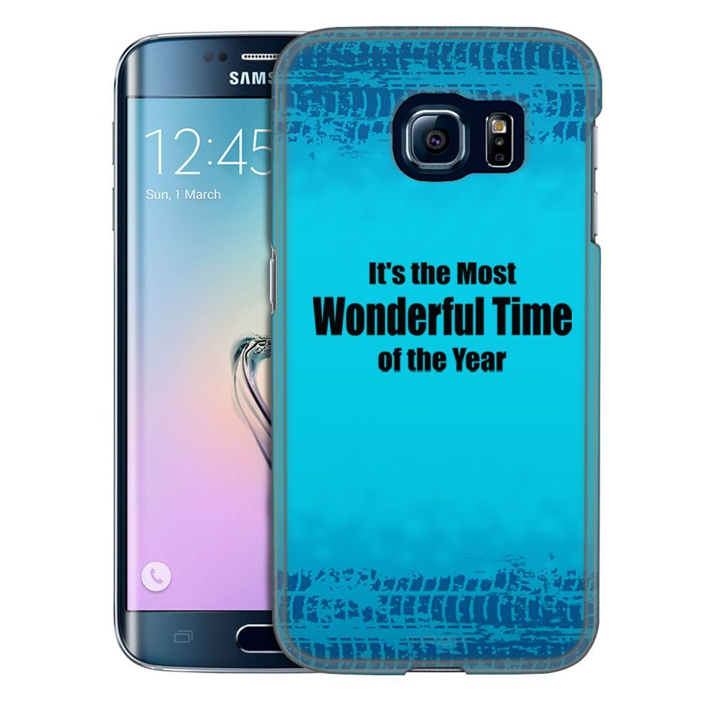 Samsung Galaxy S6 Edge It's the Most Wonderful Time of the Year Slim Case