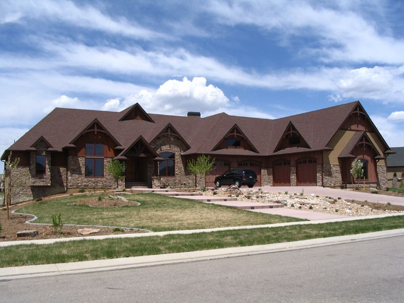 The Whitby Mountain Ranch Home has 4