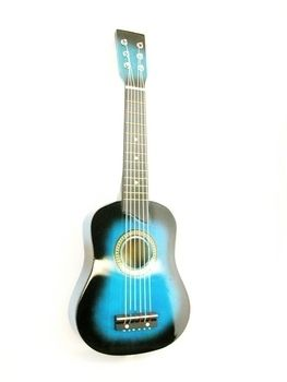 25 Childs Acoustic Guitar W Extras Blue Brand New 19 95 Guitar Baby Flower Headbands Acoustic Guitar