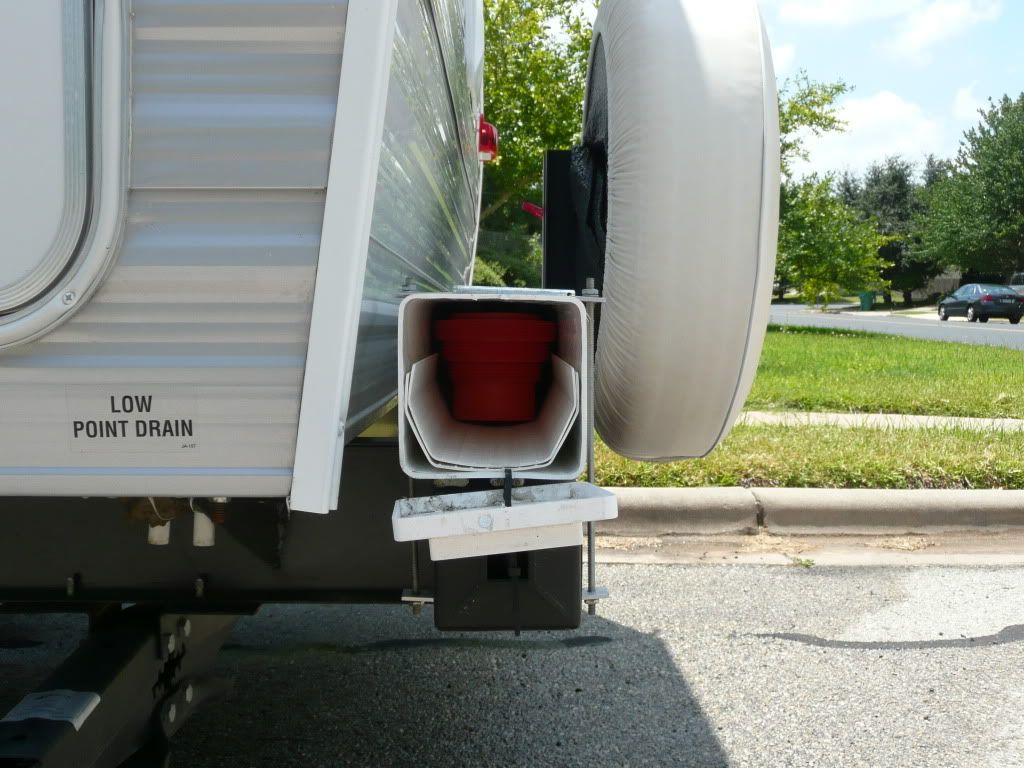 rv mods: sewer hose storage – ideas and examples – rv mods – rv