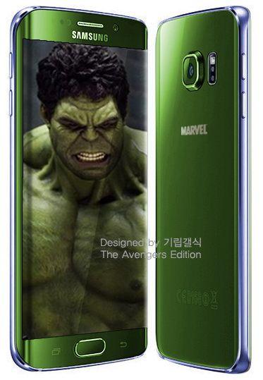 Samsung Galaxy S6 edge by Hulk