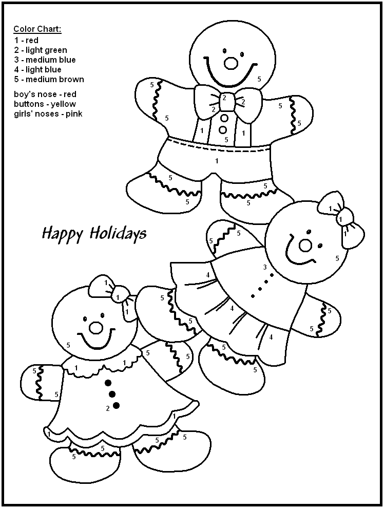 Christmas Color By Numbers Best Coloring Pages For Kids Christmas Color By Number Kindergarten Coloring Pages Coloring Books
