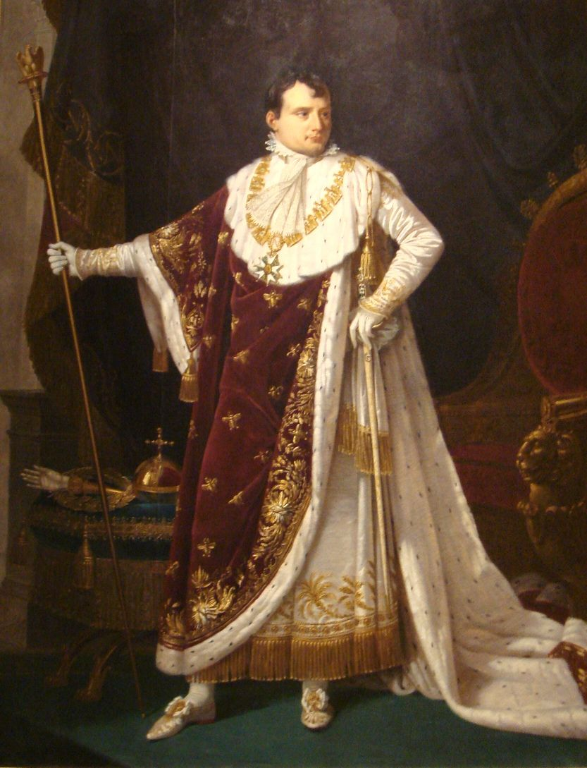 Kaiser Bonaparte Tapijt Napoleon I In Coronation Costume By Robert Lefebvre 1807