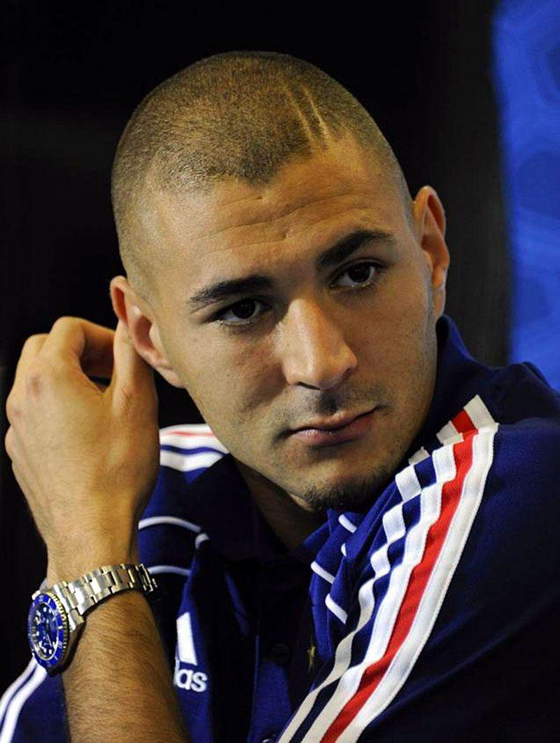 Karim Benzema White Gold Rolex Submariner