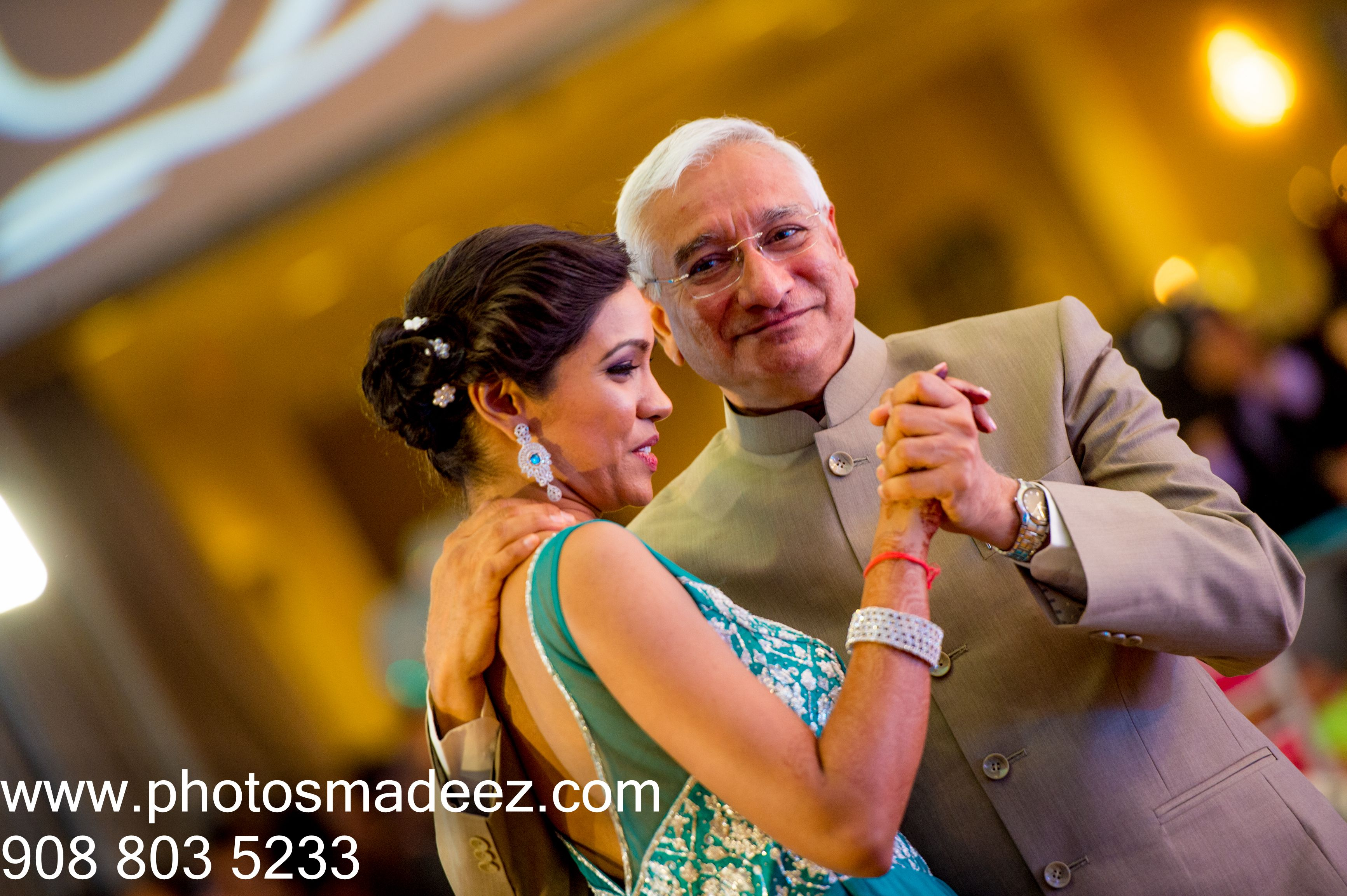Father Daughter Dance For Indian Wedding Reception At Springfield Country Club Best Photographer