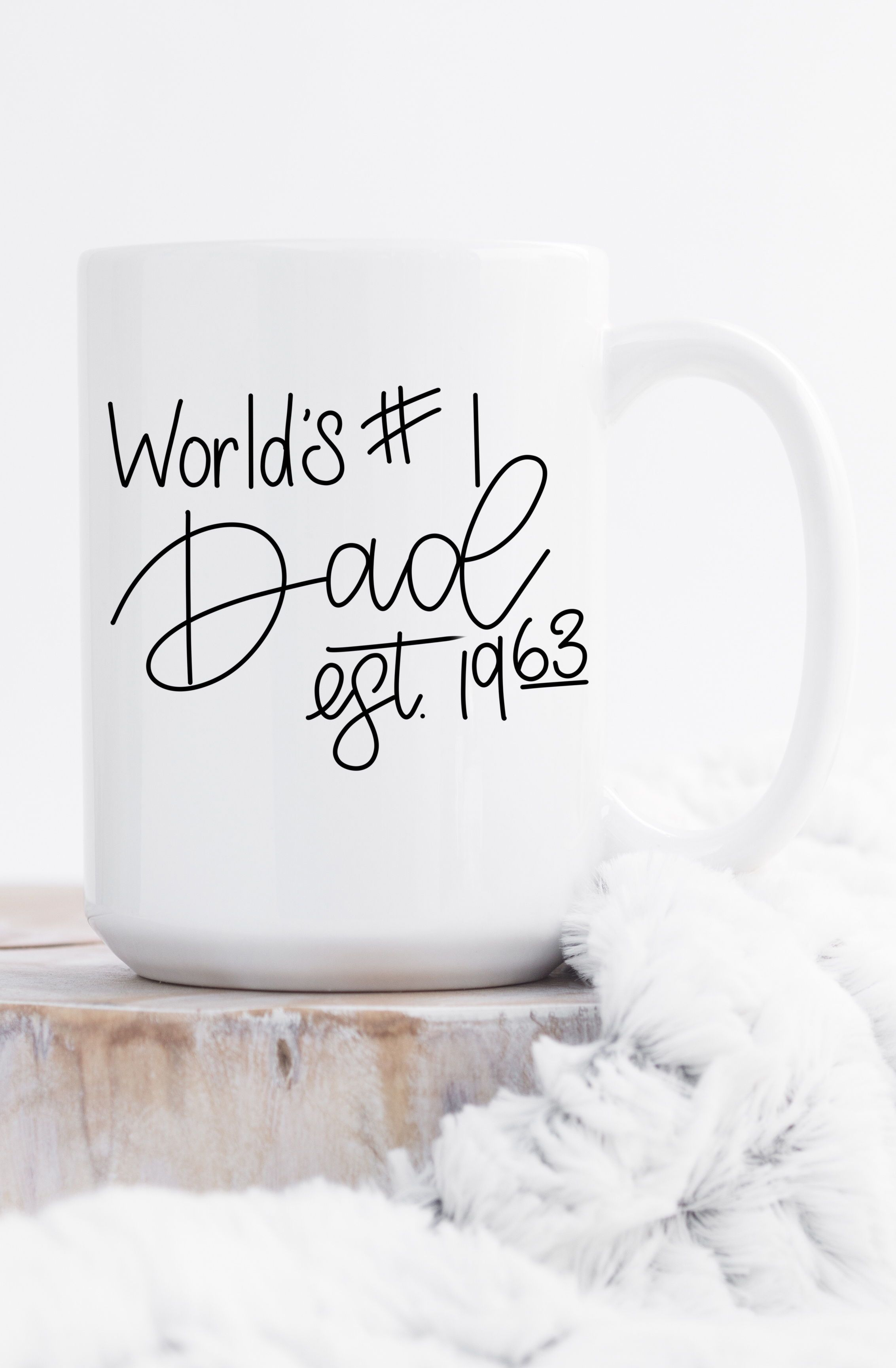 Personalized Fathers Day Mug / Fathers Day Gift / Gift for Dad ...