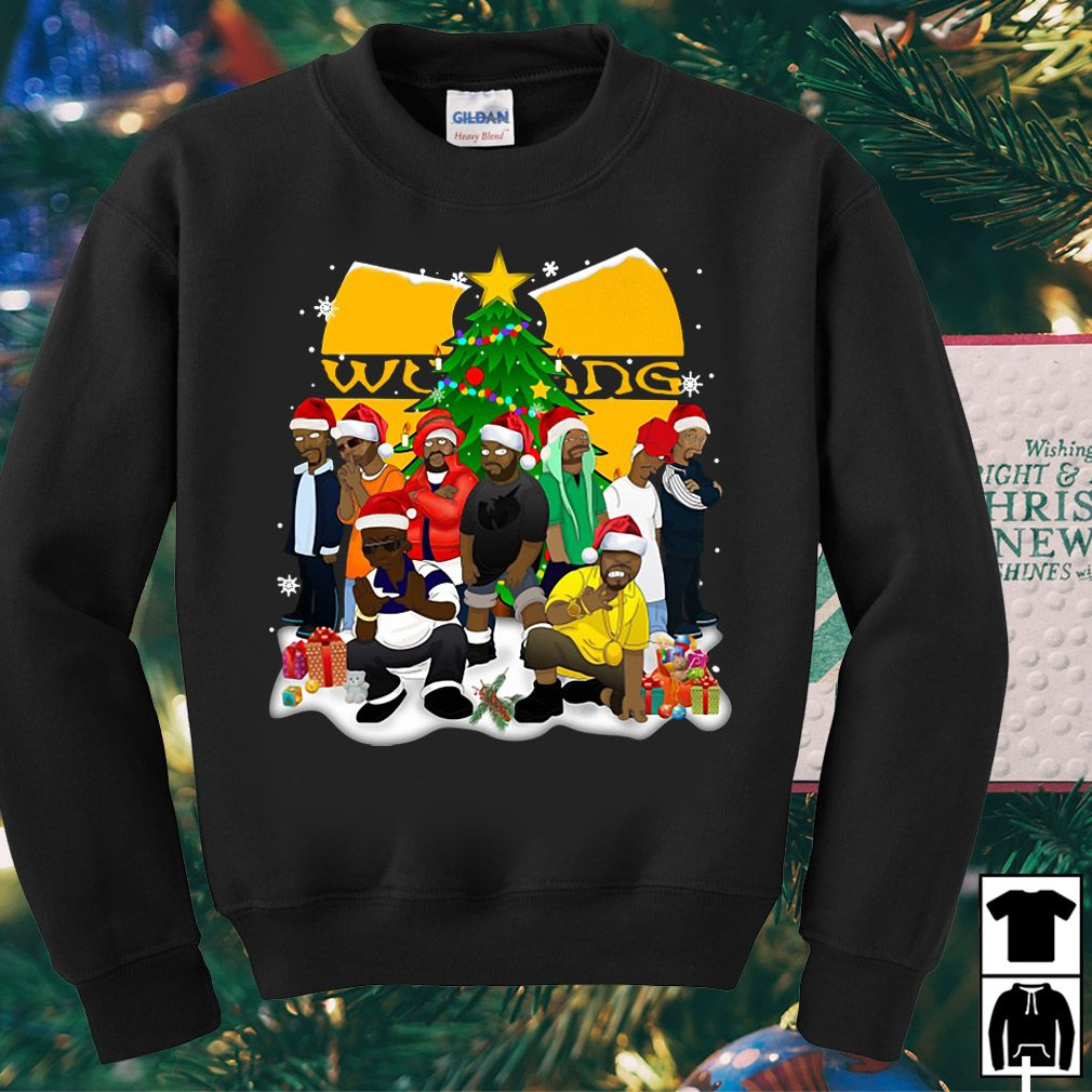 Wu Tang Clan Christmas Sweater Shirt Hoodie And Longsleeve Tee