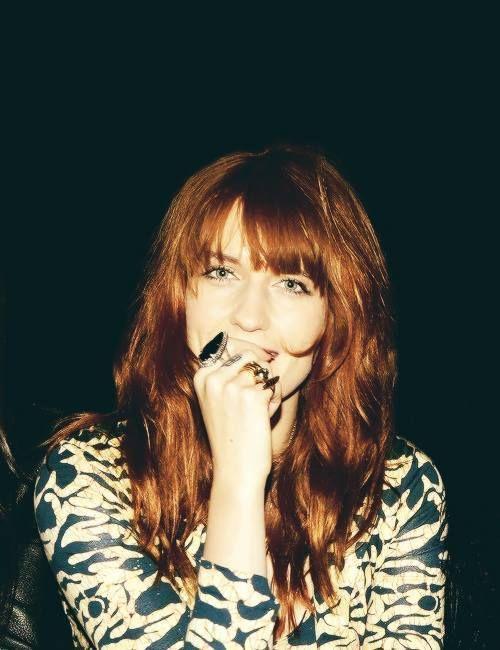 Florence   Florence welch, Cabelos lisos, A hora da estrela