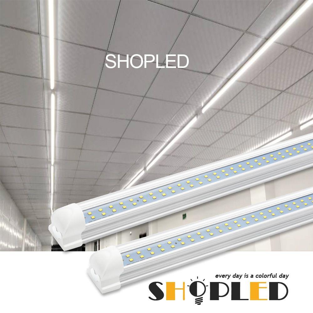 8ft Led Shop Light 72w In 2020 Led Shop Lights Shop Light
