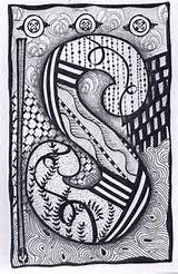 Zentangle Letters - Yahoo Image Search Results