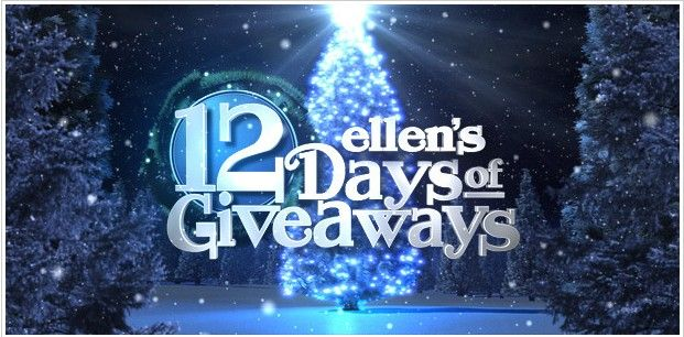 win tickets to 12 days of giveaways to the ellen degeneres show