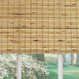 Custom Size Now by Levolor 72in W x 60in L Natural Bamboo Light