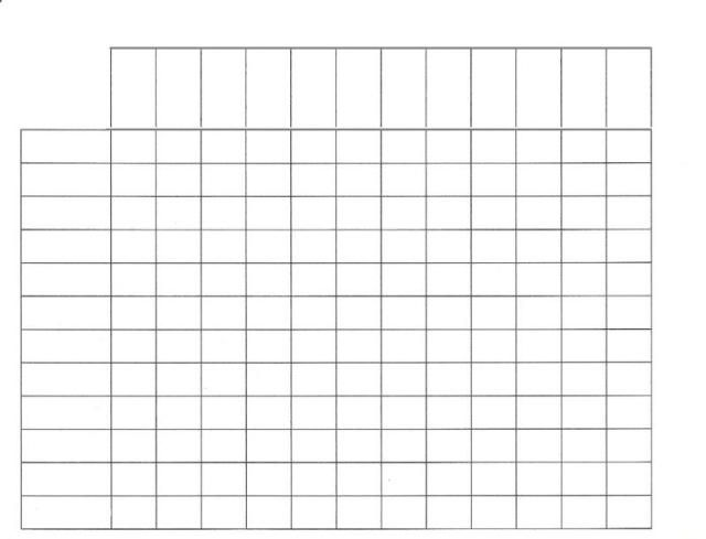 Free Printable Blank Charts Free Download Color Mixing Chart