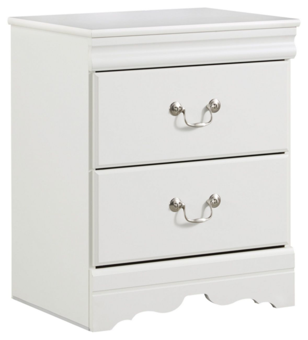 Best Signature Design Anarasia Two Drawer Night Stand Ashley Furniture B129 92 In 2020 Furniture 640 x 480