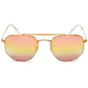 Ray-Ban Marshal Mirrored Hexagonal Sunglasses, 54mm   All I want for ... 53f3d57e02