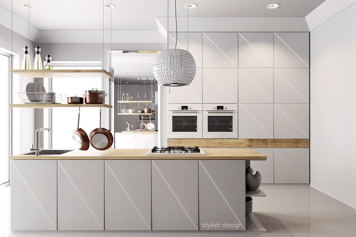 Best Kitchen Design Ever Wood Kitchen Design Ideas Best Ever White Kitchen With Diagonal