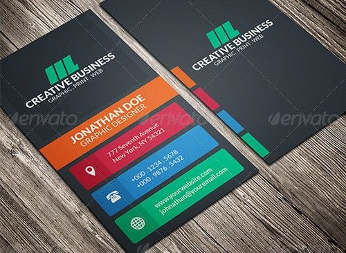 Beautiful Creative Business Card Identity Design Pinterest - Beautiful business card templates