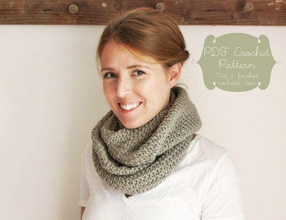 Crochet Pattern The Sloane Scarf Toddler Child Adult Sizes
