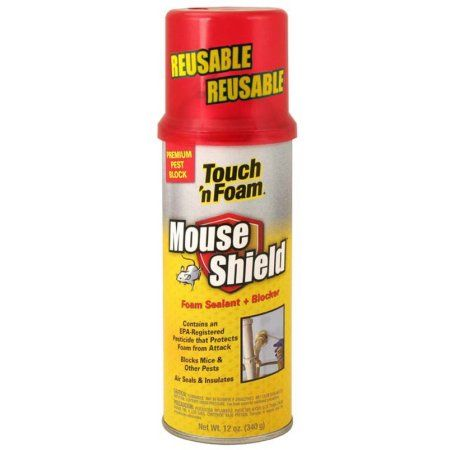 Touch 'n Foam Mouse Shield Foam Sealant & Blocker | *Healthy