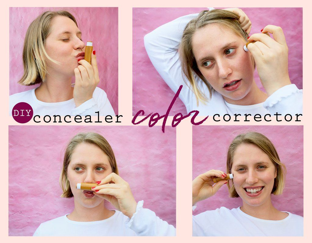 DIY Concealer Color Corrector With Essential Oils (With
