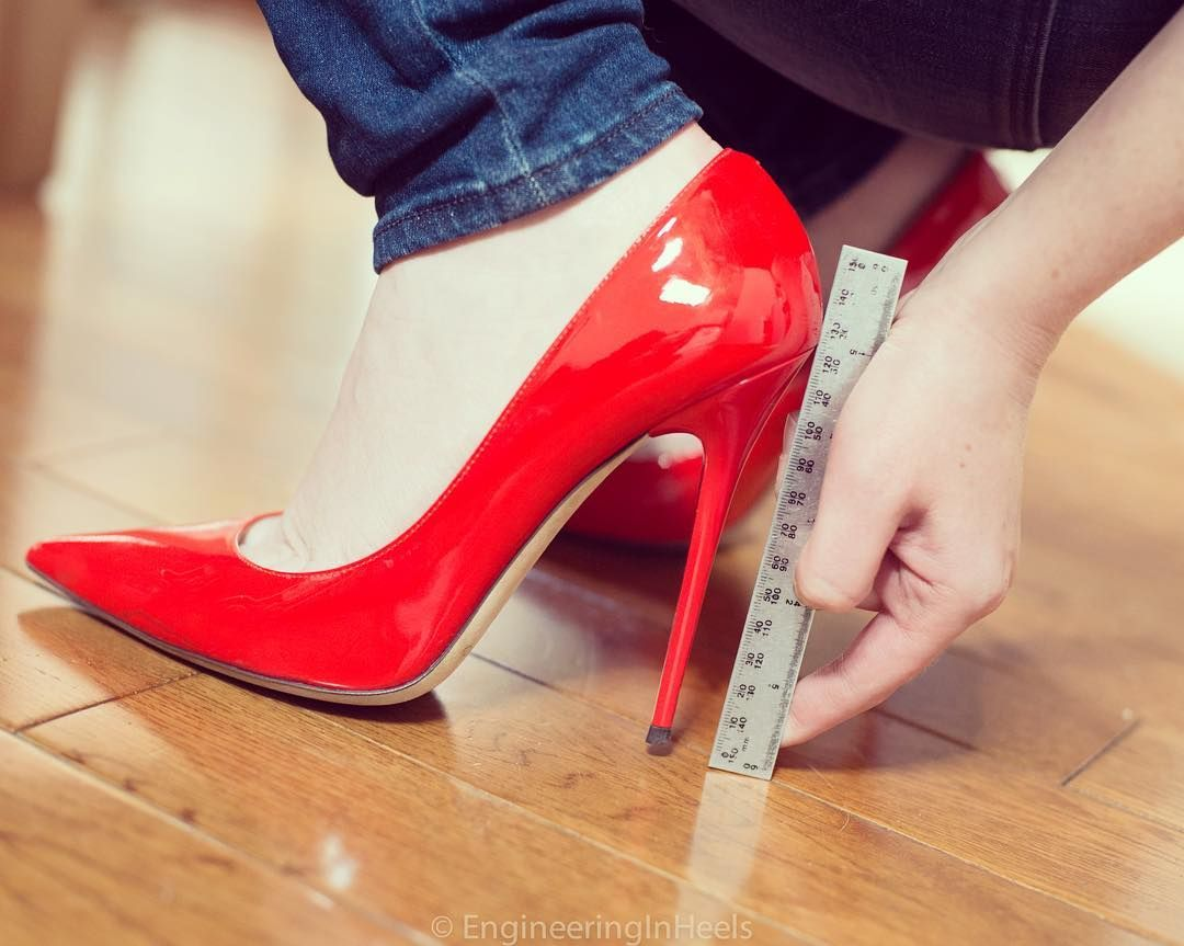 Pumps - 955-2443 - Vernice rosso - extreme High Heels by FUSS