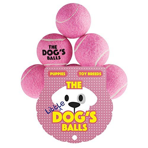 The Little Dog S Balls 6 Small Tennis Balls For Dogs Premium Mini Pink Dog Toy For Puppies Small Dogs Puppy Exercise Play Dog Ball Toy Puppies Dog Toys