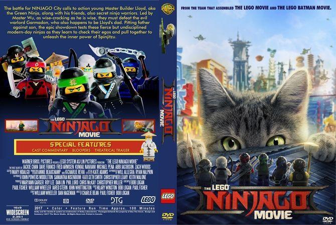 The Lego Ninjago Movie 2017 DVD Custom Cover