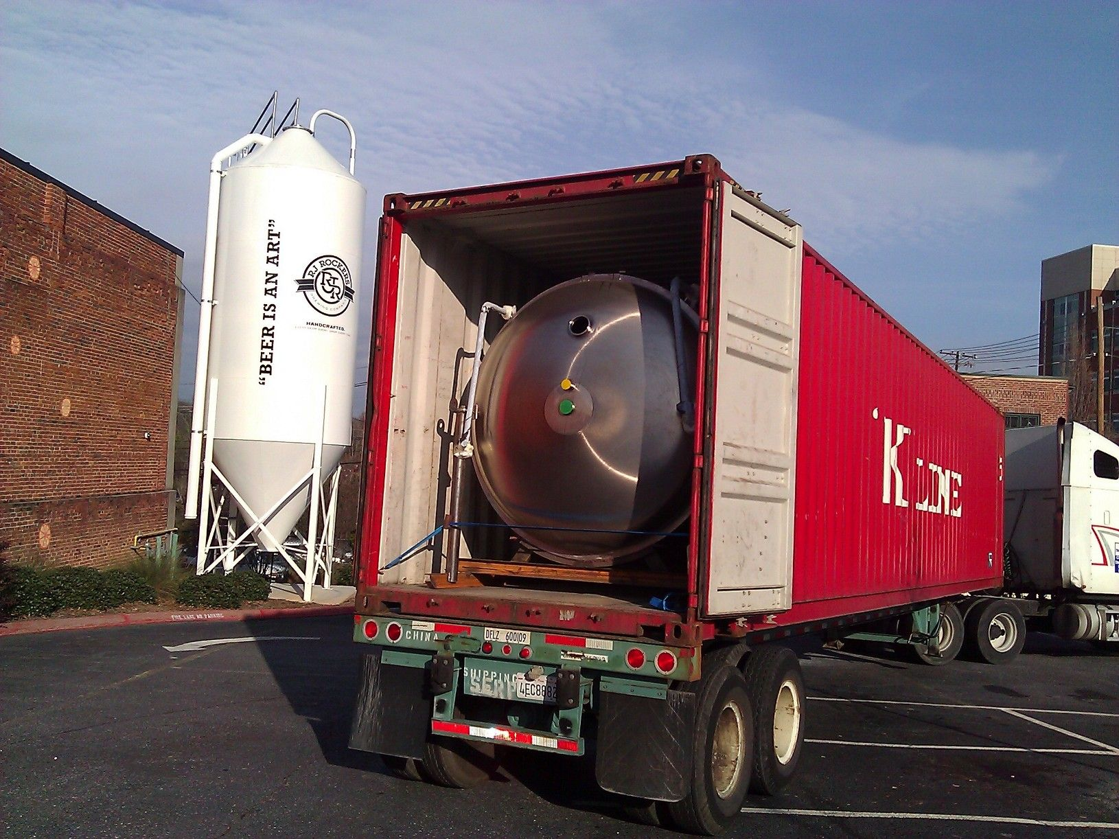 Look What Just Rolled In Newtanks Brewtime Brewery Brewing Tank