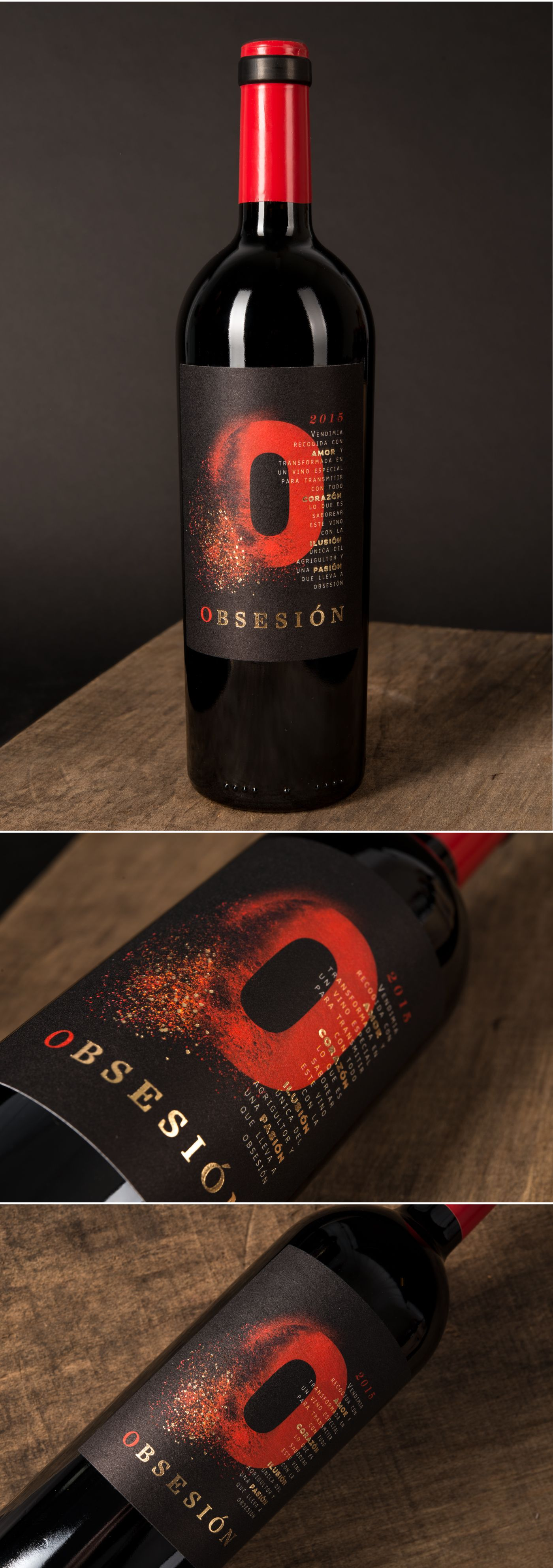 Obsesion Packaging Design By Ruska Martin Associates See More At Ruskamartin De Wine Winelabel Packaging Wine Label D Verpackungsdesign Pinot Noir Malbec