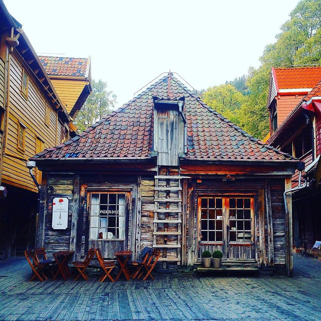 Bergen Norway's Second City and the Gateway to the Fjords. Photo by @biancachopchop on Instagram.