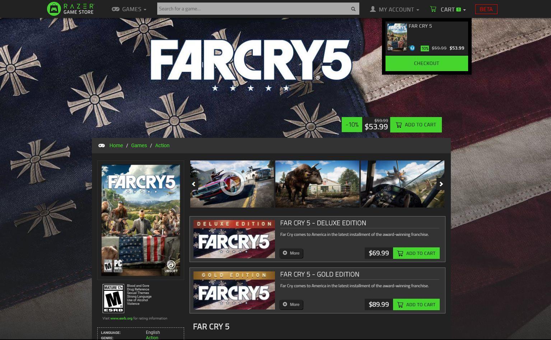 Razer lansează propriul său magazin de jocuri, în genul