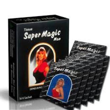 tisu power magic man obat kuat pria oles atau biasa disebut tisu