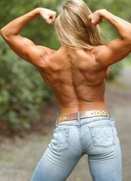 athletic women back muscles - Yahoo Image Search Results ...