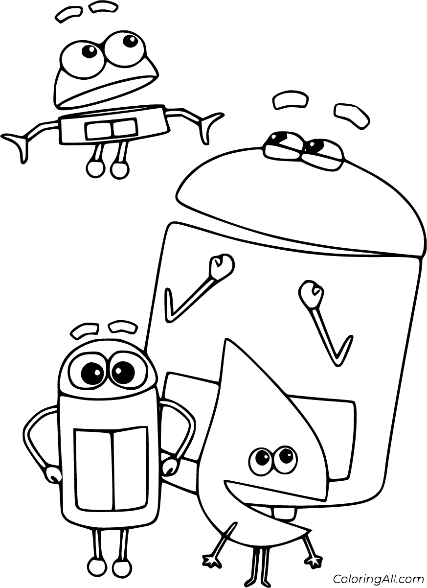 24 Free Printable Storybots Coloring Pages In Vector Format Easy To Print From Any Device In 2021 Coloring Pages Cartoon Coloring Pages Free Printable Coloring Pages [ 1201 x 873 Pixel ]