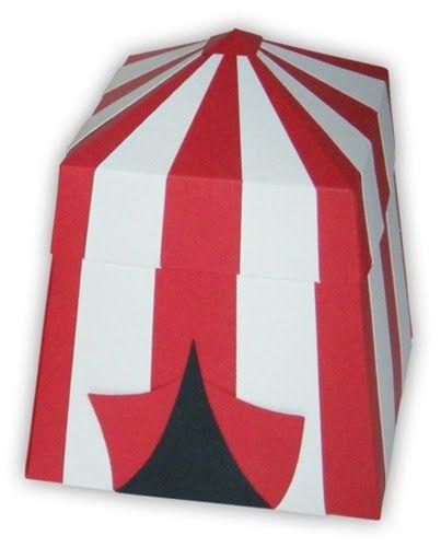 tent favor boxes: etsy