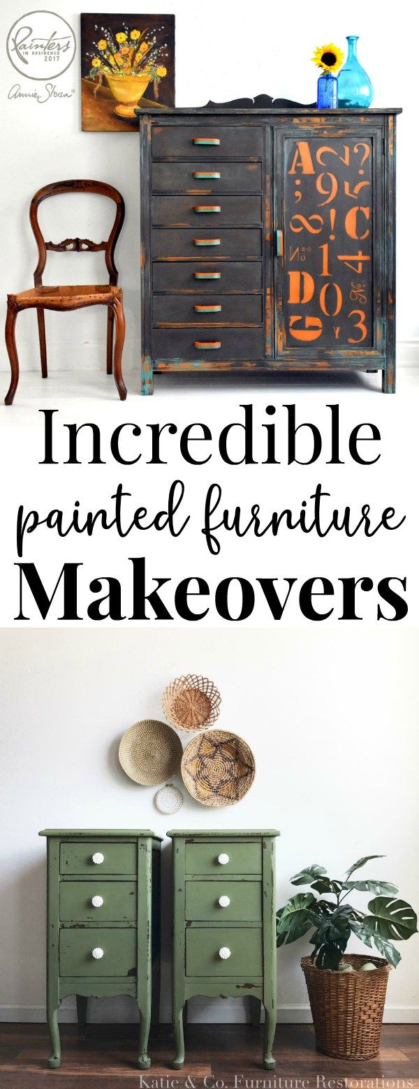 12 Painted Furniture Makeovers (Plus How They Got The Look