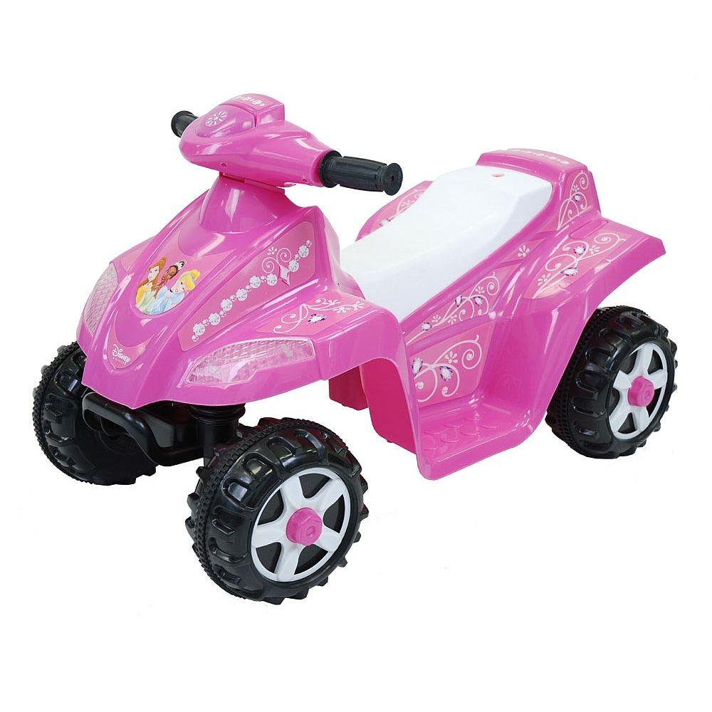 100 disney princess 6v electric toddler quad dorel for Motorized quad for toddler
