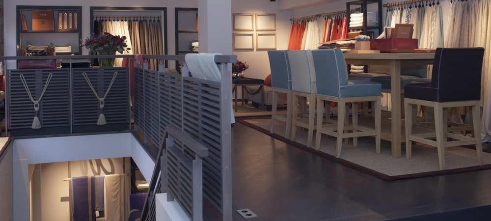 Loro piana interior showroom paris loro piana - Papeles pintados galiana ...