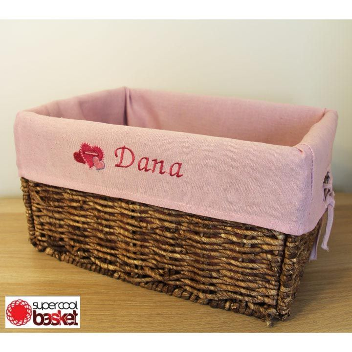 Storage Baskets & Pin by Super Cool Basket on Personalized basket | Pinterest ...