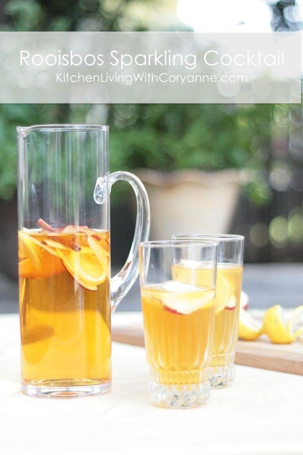 Food Trends: Rooibos Tea Cocktail by Coryanne Ettiene