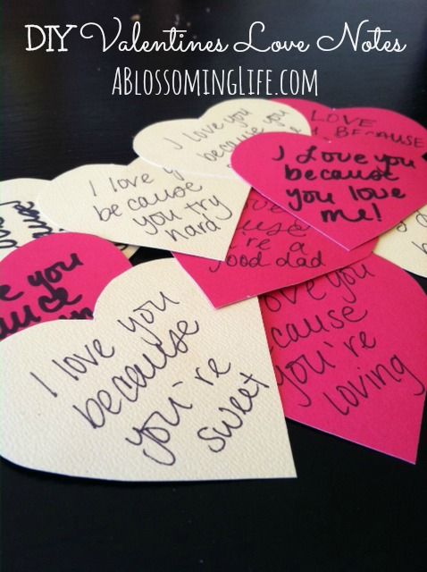 Happy Valentine S Day Valentines Diy Love Notes For Him Valentines