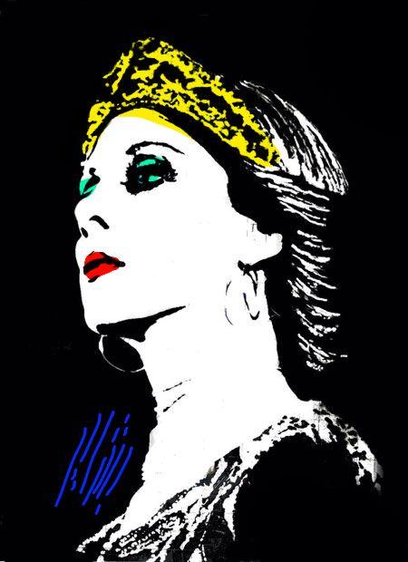 Fairouz Popart فيروز Art Pop Art Arabic Art