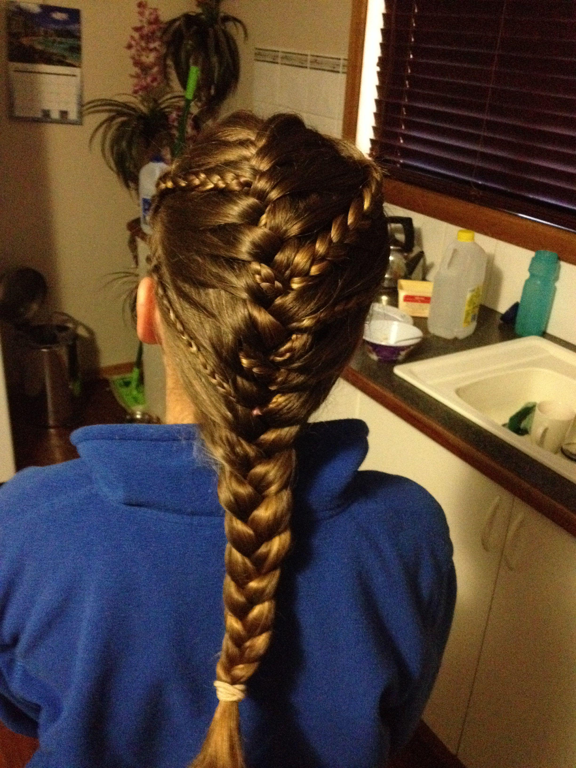 Plaits and braid jessicaus hairdo pinterest plaits
