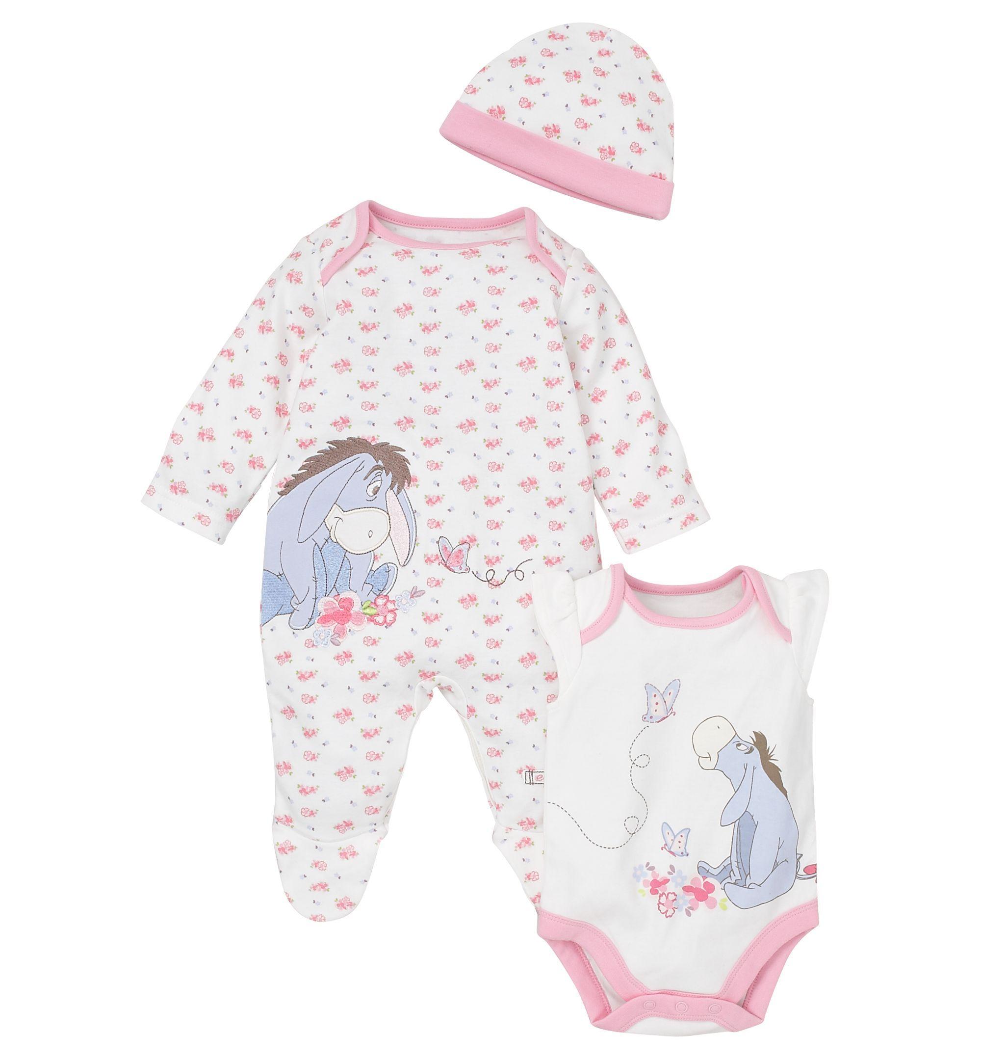 cd974afba5597 Eeyore Set - 3 Piece Set Disney Baby Clothes Girl, Baby Disney, Disney Baby