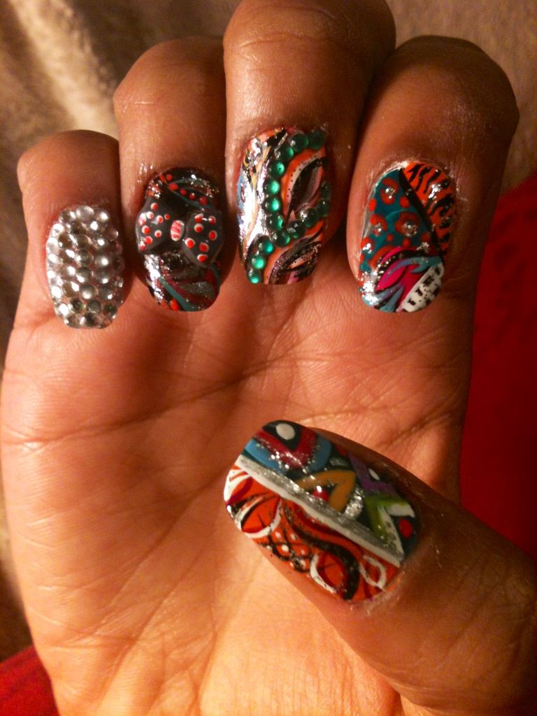 Fall time ! Nail design. | My Crazy Nail Art/Designs | Pinterest